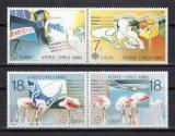 Poštovní známky Kypr 1988 Evropa CEPT, transport Mi# 695-98