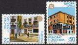 Poštovní známky Andorra Šp. 1990 Evropa CEPT, pošty Mi# 214-15