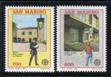 Poštovní známky San Marino 1990 Evropa CEPT, pošty Mi# 1432-33 Kat 7€