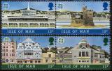Poštovní známky Ostrov Man 1987 Evropa CEPT, moderní architektura Mi# 335-38