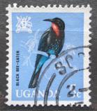 Poštovní známka Uganda 1965 Melittophagus gularis Mi# 87