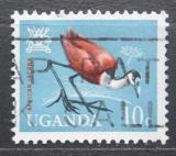 Poštovní známka Uganda 1965 Ostnák africký Mi# 88