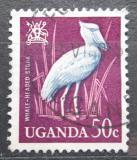 Poštovní známka Uganda 1965 Člunozobec africký Mi# 93