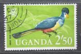 Poštovní známka Uganda 1965 Turako velký Mi# 97