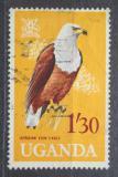 Poštovní známka Uganda 1965 Orel jasnohlasý Mi# 96