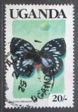 Poštovní známka Uganda 1989 Euxanthe wakefieldi Mi# 711
