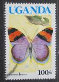 Poštovní známka Uganda 1989 Euphaedra neophron Mi# 717