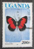 Poštovní známka Uganda 1989 Vanessula milca Mi# 719