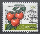 Poštovní známka Uganda 1975 Rajčata Mi# 127