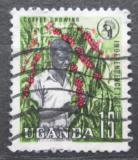 Poštovní známka Uganda 1962 Sběr kávy Mi# 75