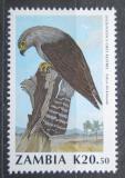 Poštovní známka Zambie 1990 Poštolka Dickinsonova Mi# 534