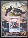 Poštovní známka Mosambik 2013 Ptáci Mi# Block 832 Kat 10€