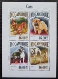 Poštovní známky Mosambik 2013 Psi Mi# 6982-85 Kat 11€