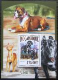 Poštovní známka Mosambik 2013 Psi Mi# Block 836 Kat 10€