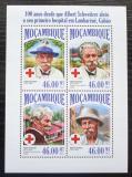 Poštovní známky Mosambik 2013 Albert Schweitzer Mi# 7027-30 Kat 11€