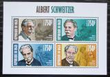 Poštovní známky Niger 2013 Albert Schweitzer Mi# 2348-51 Kat 12€