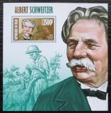 Poštovní známka Niger 2013 Albert Schweitzer Mi# Block 210 Kat 10€