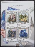 Poštovní známky Niger 2015 Minerály Mi# 3390-93 Kat 13€