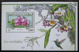 Poštovní známka Niger 2015 Orchideje Mi# Block 466 Kat 13€