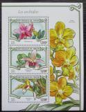 Poštovní známky Niger 2015 Orchideje Mi# 3594-96 Kat 14€
