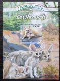 Poštovní známka Niger 2013 Liška pouštní Mi# Block 164 Kat 10€