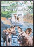 Poštovní známka Niger 2013 Pes hyenový Mi# Block 166 Kat 10€