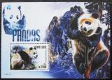 Poštovní známka Sierra Leone 2015 Pandy Mi# Block 809 Kat 10€