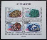 Poštovní známky Burundi 2013 Minerály Mi# 3213-16 Kat 8.90€