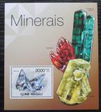Poštovní známka Guinea-Bissau 2012 Minerály Mi# Block 1048 Kat 12€