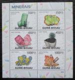 Poštovní známky Guinea-Bissau 2009 Minerály Mi# 4097-4102 Kat 14€