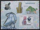 Poštovní známka Guinea-Bissau 2009 Minerály Mi# Block 684 Kat 14€