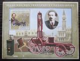 Poštovní známka Guinea-Bissau 2008 Historie dopravy Mi# Block 675 Kat 14€