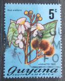 Poštovní známka Guyana 1971 Oreláník barvířský Mi# 398