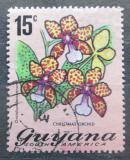 Poštovní známka Guyana 1972 Oncidium lanceanum Mi# 401 A