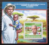 Poštovní známka Guinea 2013 Albert Schweitzer Mi# Block 2314 Kat 16€