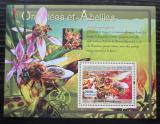 Poštovní známka Guinea 2007 Včely a orchideje Mi# Block 1179 Kat 7€