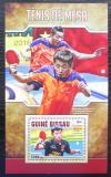 Poštovní známka Guinea-Bissau 2016 Stolní tenis Mi# Block 1517 Kat 12.50€