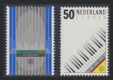 Poštovní známky Nizozemí 1985 Evropa CEPT, rok hudby Mi# 1274-75