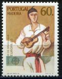 Poštovní známka Madeira 1985 Evropa CEPT, rok hudby Mi# 97