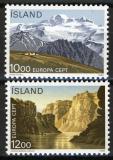 Poštovní známky Island 1986 Evropa CEPT, ochrana přírody Mi# 648-49 Kat 6€