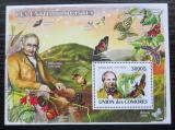 Poštovní známka Komory 2009 Entomologové Mi# Block 464 Kat 15€