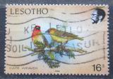 Poštovní známka Lesotho 1988 Snovač kapský Mi# 683 A
