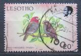 Poštovní známka Lesotho 1989 Amadina červenohlavá Mi# 684 C