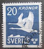 Poštovní známka Švédsko 1953 Labutě Mi# 290 Du