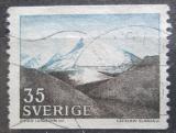 Poštovní známka Švédsko 1967 Pohoří Fjäll Mi# 575 A