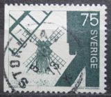 Poštovní známka Švédsko 1972 Větrný mlýn Mi# 711 yDl