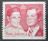 Poštovní známka Švédsko 1976 Královský pár Mi# 952 A