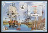 Poštovní známka Gabon 2019 Plachetnice Mi# N/N