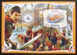 Poštovní známka Gabon 2019 Antické lodě Mi# N/N