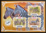 Poštovní známky Gabon 2019 Zebry Mi# N/N